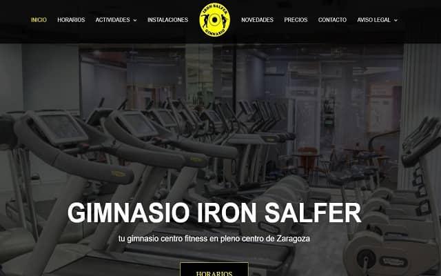 gimnasio iron salfer zaragoza